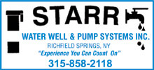 Star Water Well & Pump Systems, Inc.